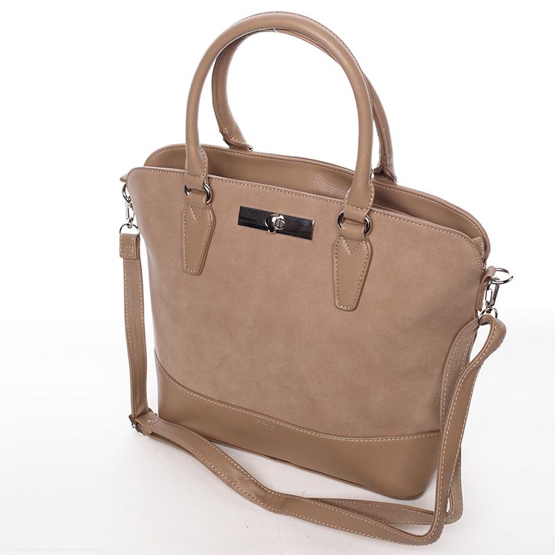 Elegantní dámská kabelka Karina, béžová