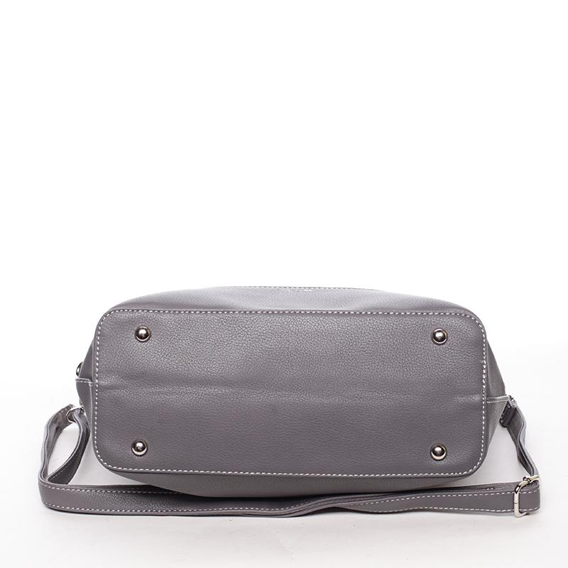 Elegantní dámská kabelka Karina, tmavě šedá