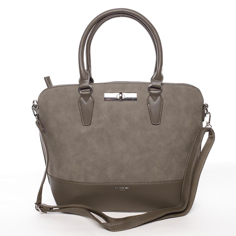 Elegantní dámská kabelka Karina, khaki