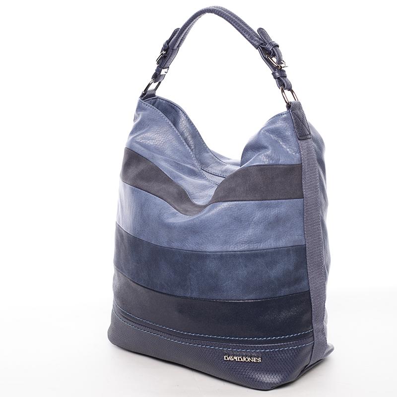 Stylová kabelka přes rameno Iskra, modrá
