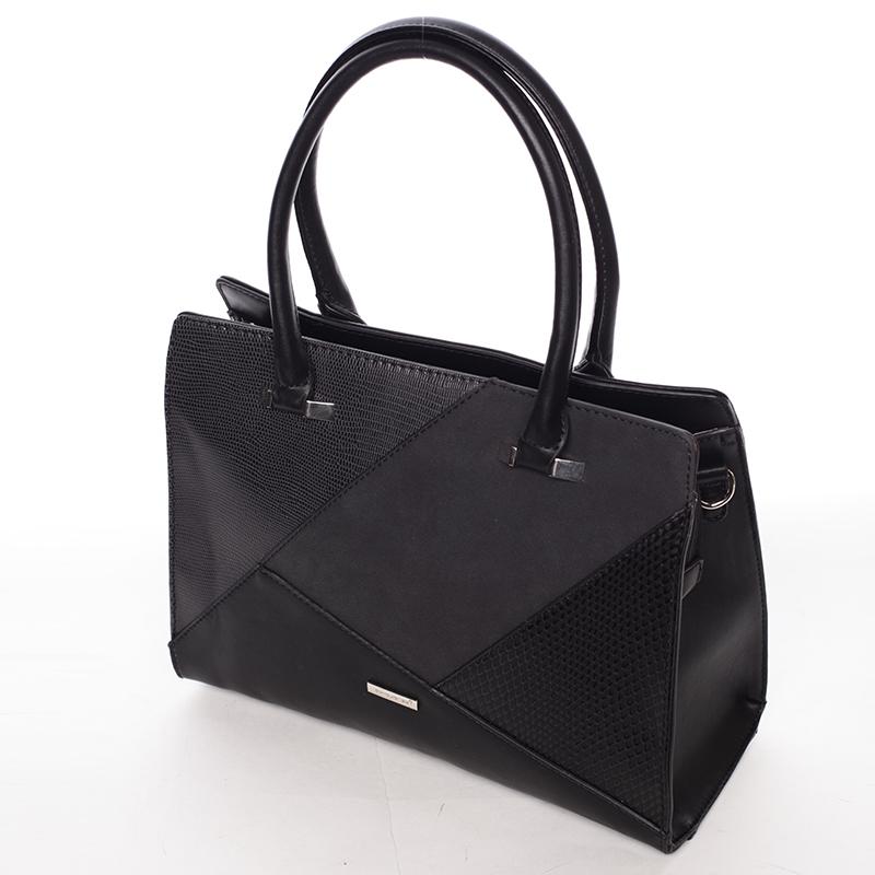 Stylová kabelka do ruky Klara, černá
