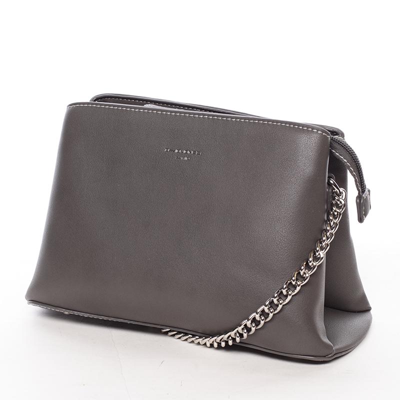 Stylová crossbody kabelka Kelsey, tmavě šedá
