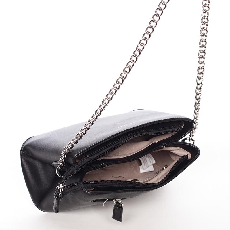 Stylová crossbody kabelka Kelsey, černá