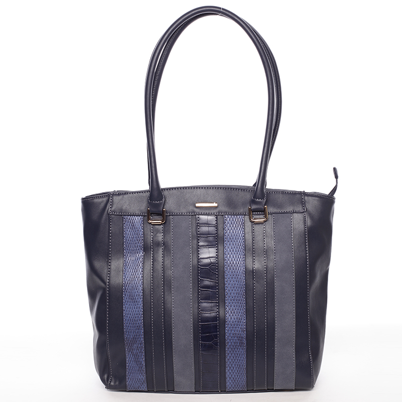 Elegantní kabelka přes rameno Reagan, modrá