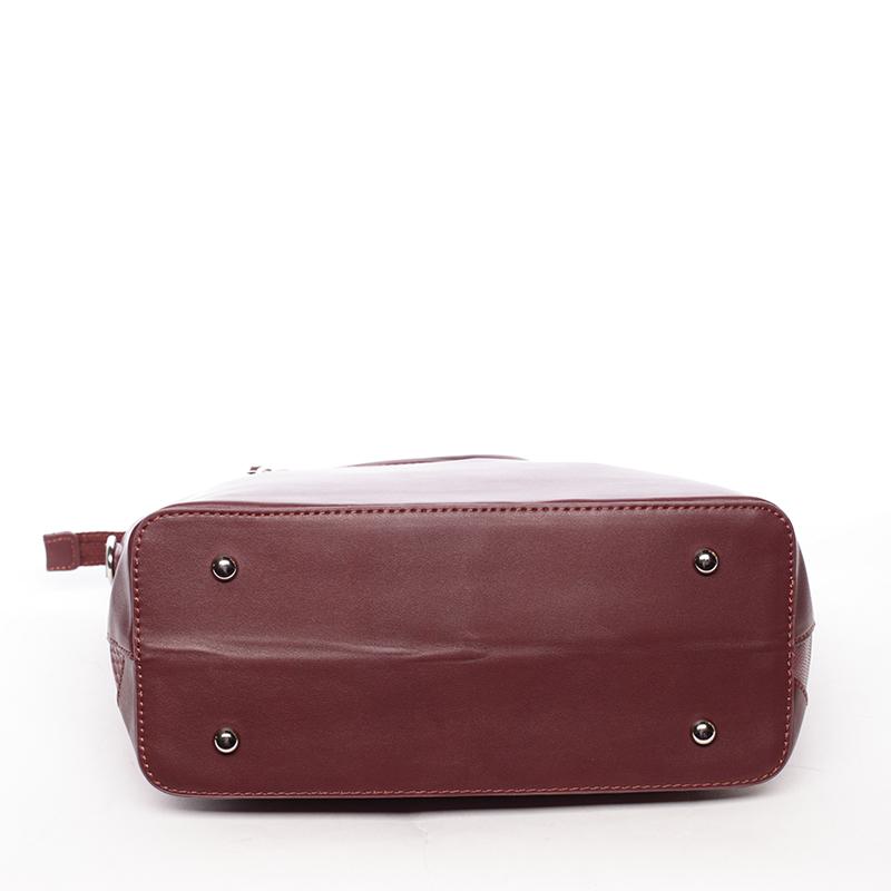 Dámská kabelka střední velikosti Lidiya, bordó