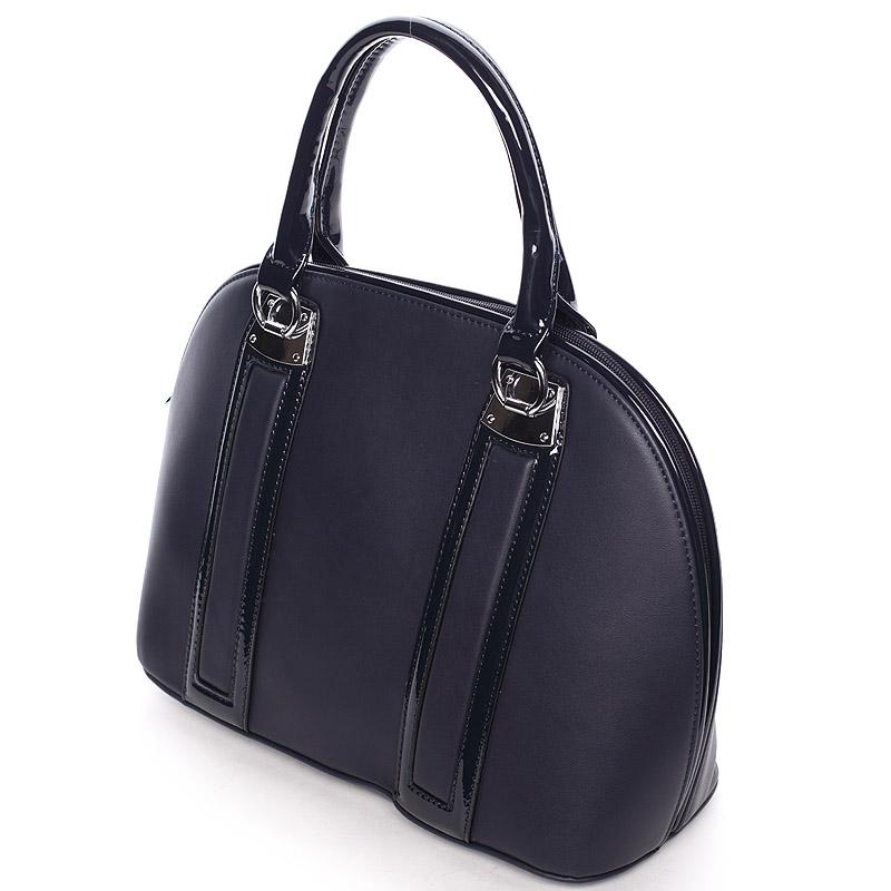 Luxusní  kabelka do ruky Silvie Rosa, modrá