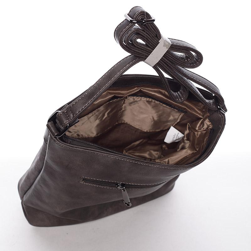 Stylová crossbody kabelka Jennifer, šedá