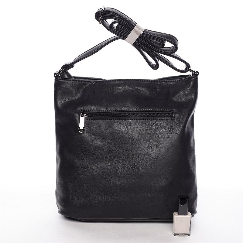 Stylová crossbody kabelka Jennifer, černá