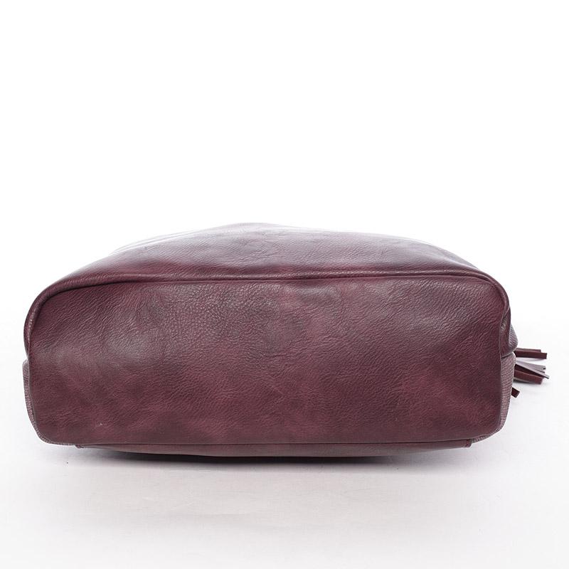 Stylová crossbody kabelka Jennifer, červená