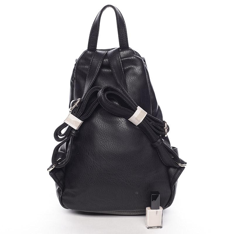 Elegatně-sportovní batůžek Tess, new černý