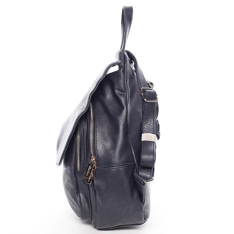 Elegatně-sportovní batůžek Tess, tmavě modrý