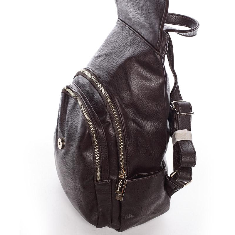 Elegatně-sportovní batůžek Tess, tmavě hnědý