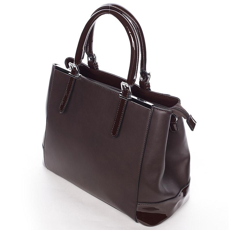 Dámská luxusní kabelka Miriam, kávová