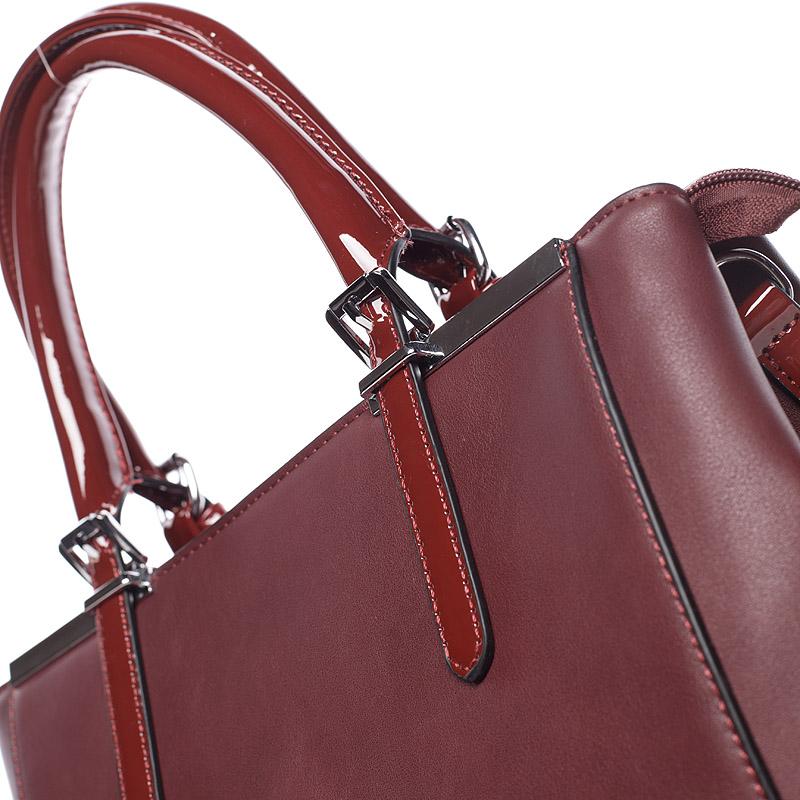 Dámská luxusní kabelka Miriam, červená
