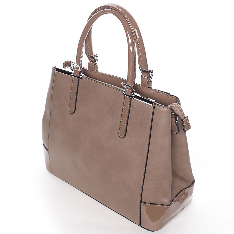 Dámská luxusní kabelka Miriam, khaki