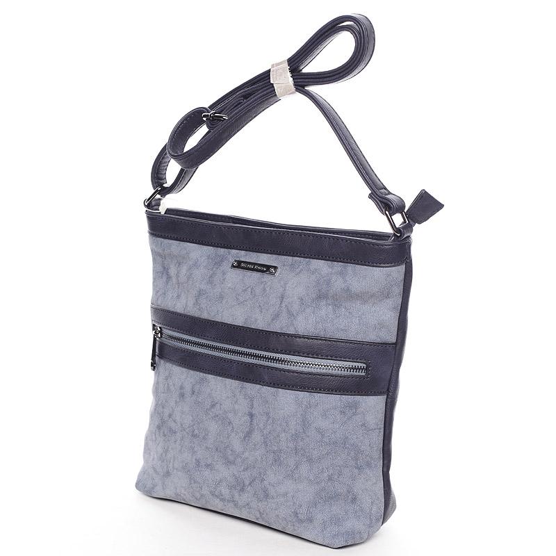 Trendy crossbody kabelka Noelia, modrá
