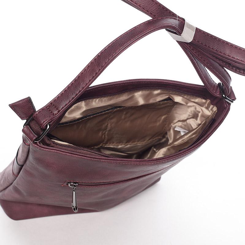Trendy crossbody kabelka Noelia, červená