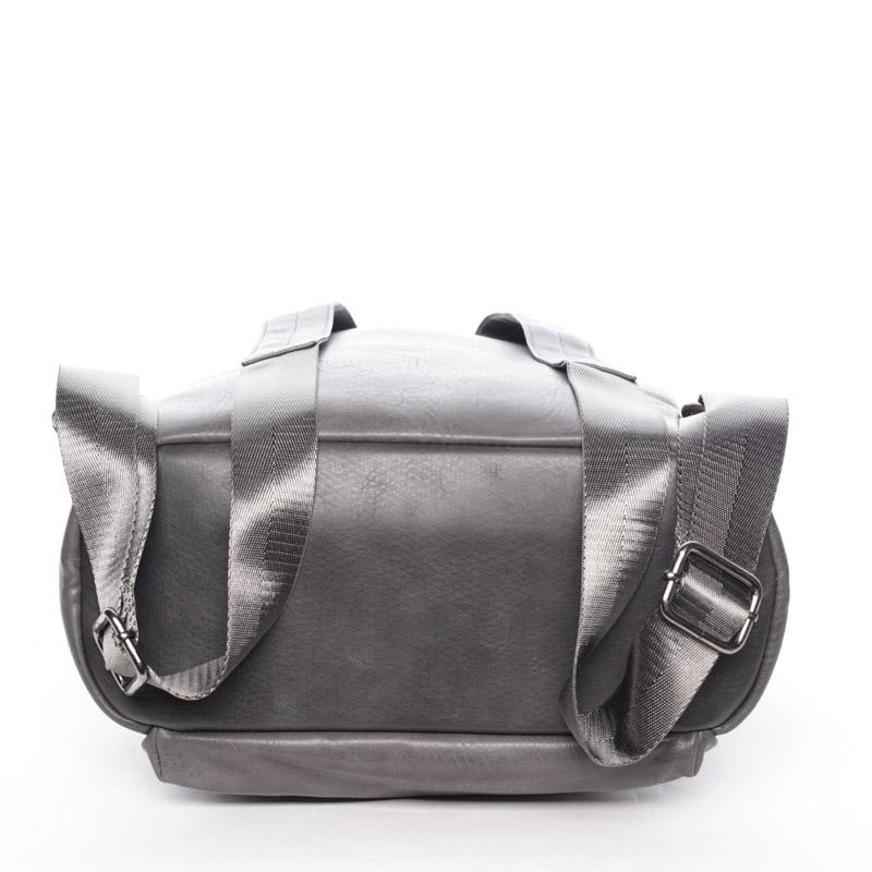 Prostorný dámský batoh Gemma, tmavě šedý
