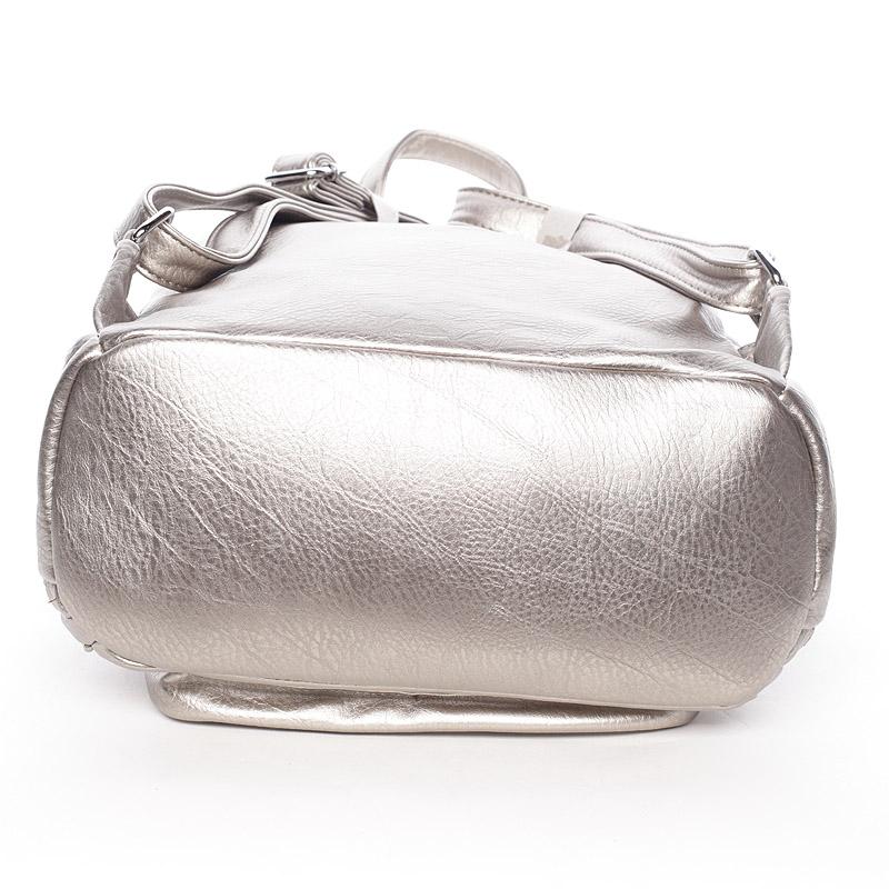 Trendy batoh Katy, stříbrný