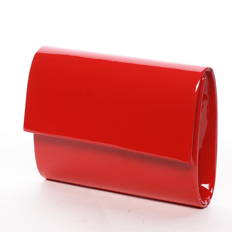 Elegantní psaníčko Segunda, lakované červené