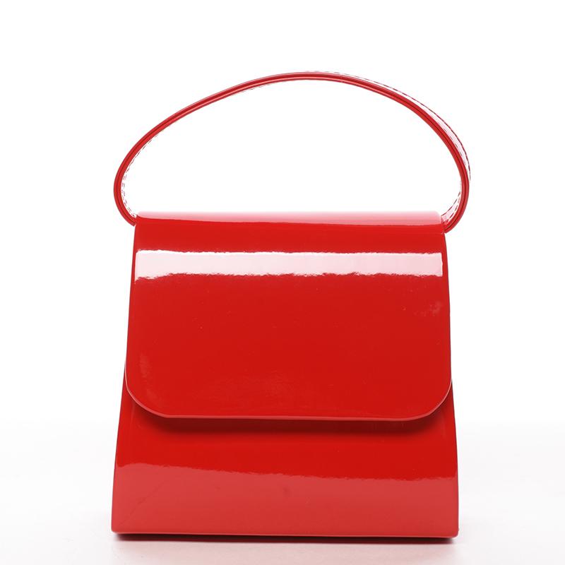 Krásné psaníčko Gisela, lakované červené
