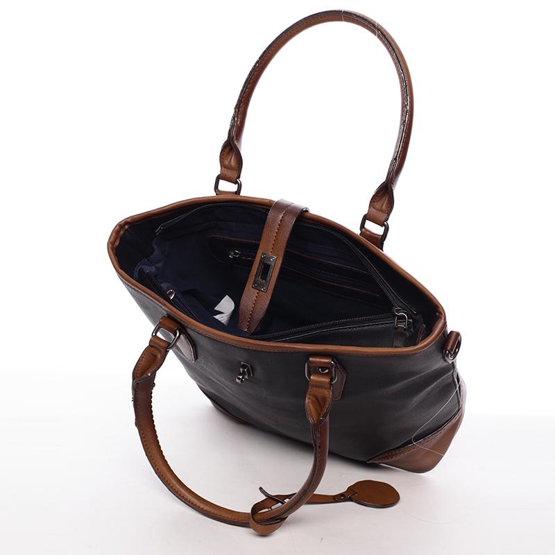 Dámská trendy kabelka Karissa, černá
