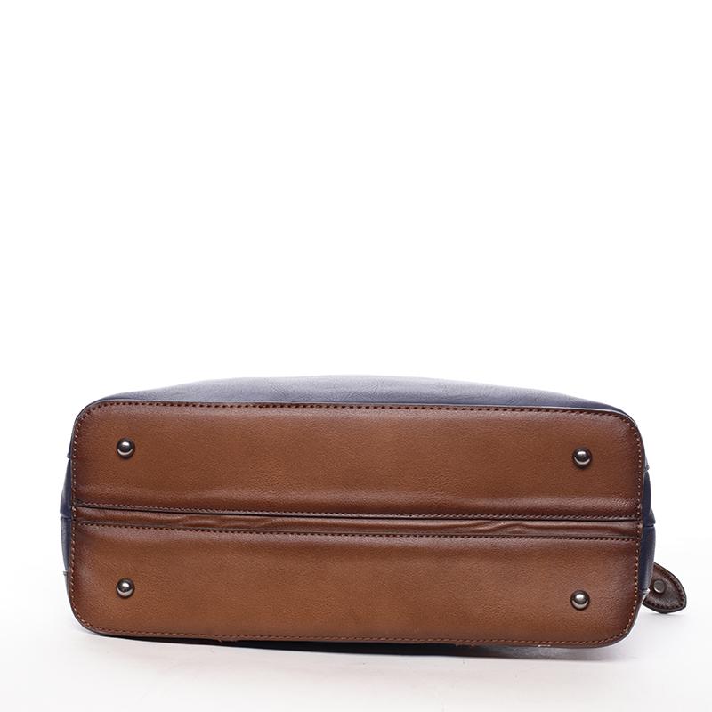 Trendová dámská kabelka do ruky Destiney, modrá