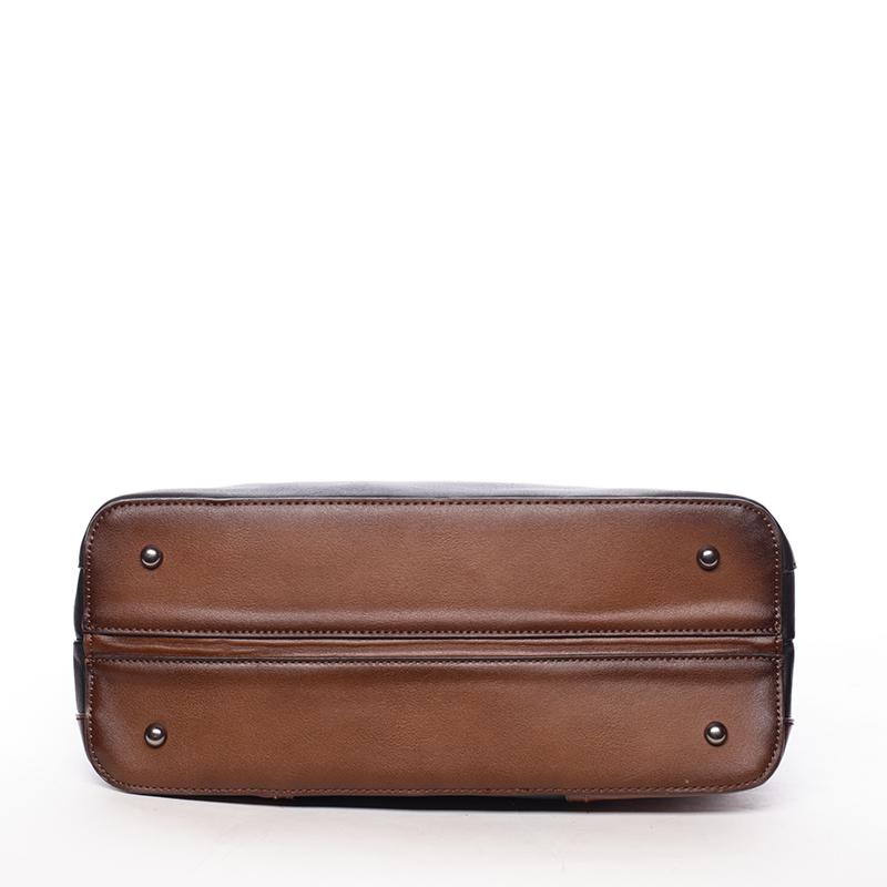 Trendová dámská kabelka do ruky Destiney, černá