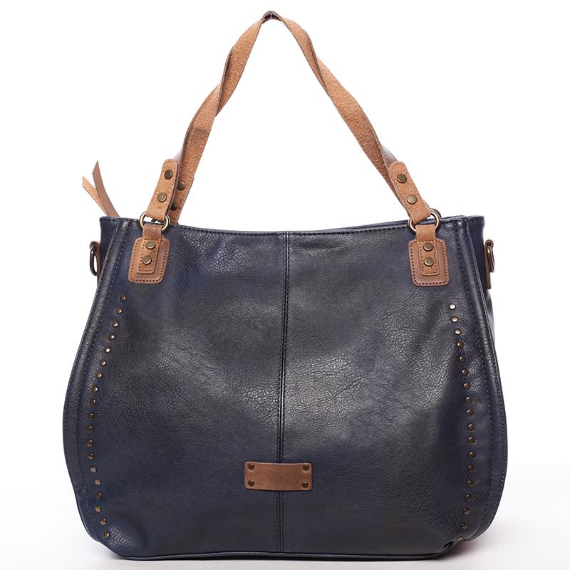 Originální dámská kabelka přes rameno Katelin, modrá
