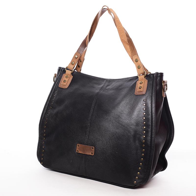 Originální dámská kabelka přes rameno Katelin, černá
