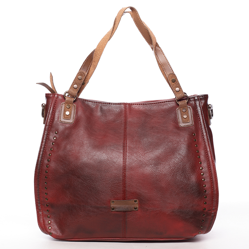 Originální dámská kabelka přes rameno Katelin, červená