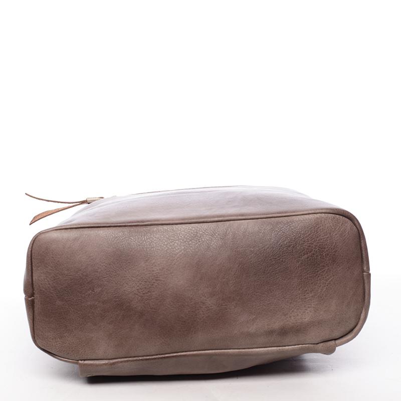 Stylová dámská kabelka Alexys, oříšková