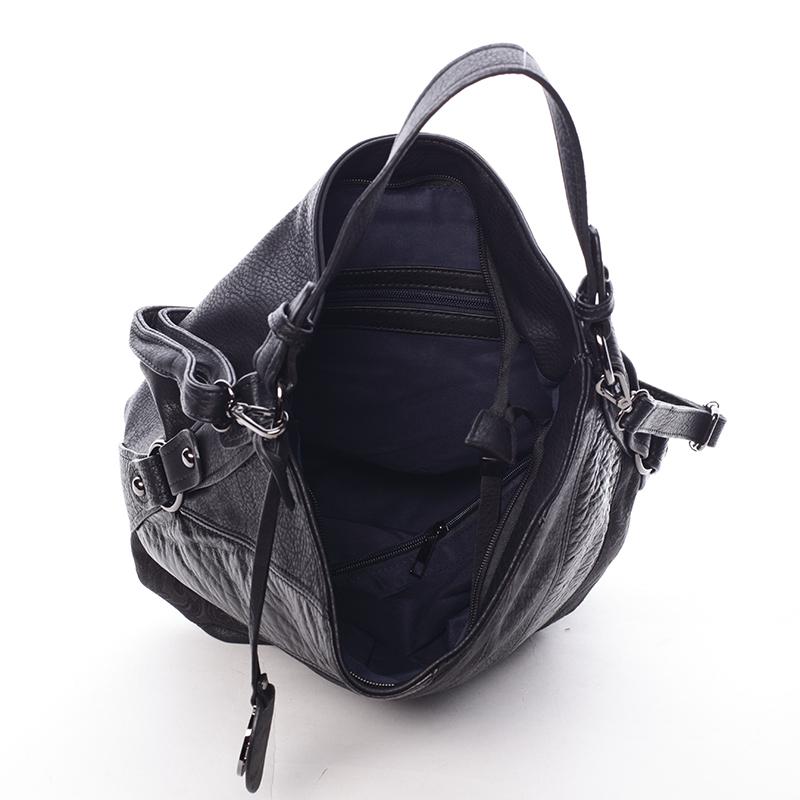 Černá kabelka přes rameno MC Mary Rebekah