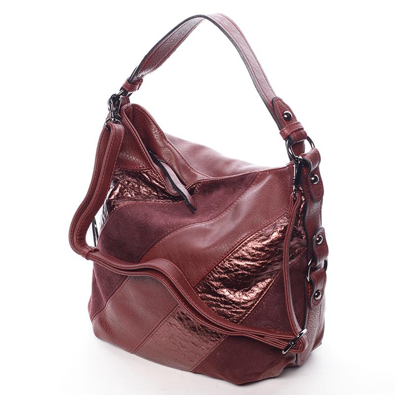 Červená kabelka přes rameno MC Mary Rebekah