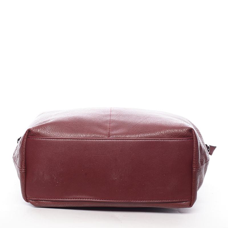 Stylová kabelka přes rameno Rita, červená