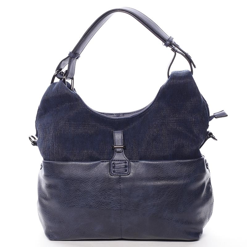 Stylová kabelka přes rameno Rita, modrá