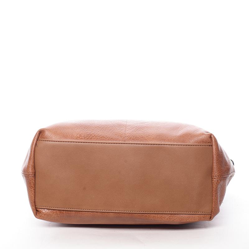Stylová kabelka přes rameno Rita, hnědá