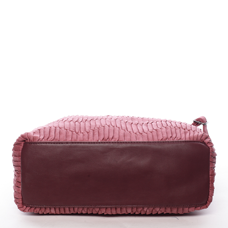 Měkká originální kabelka Margarita, červená