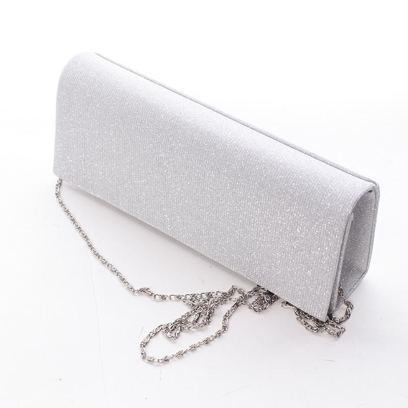 Dámské psaníčko Tierra, stříbrné