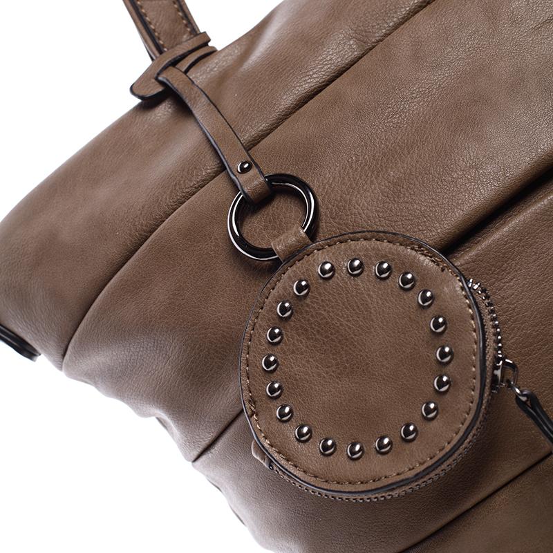 Stylová kabelka přes rameno Claire, oříšková
