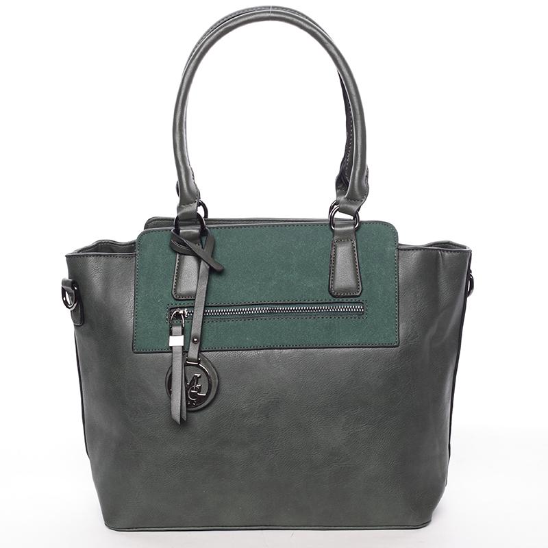 Luxusní kabelka přes rameno Milia, zelená