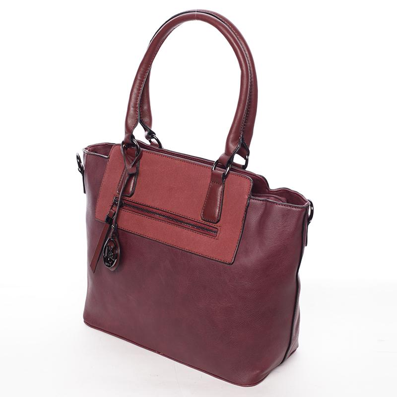 Luxusní kabelka přes rameno Milia, červená