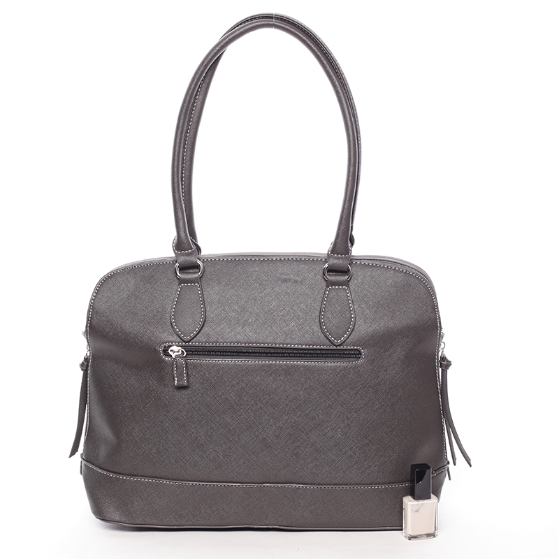 Trendy kabelka Raegan, tmavě šedá