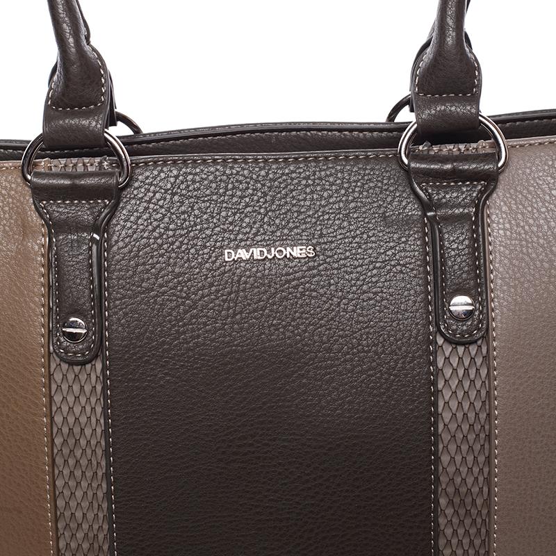 Dámská kabelka Ardis, tmavá khaki-tmavá béžová