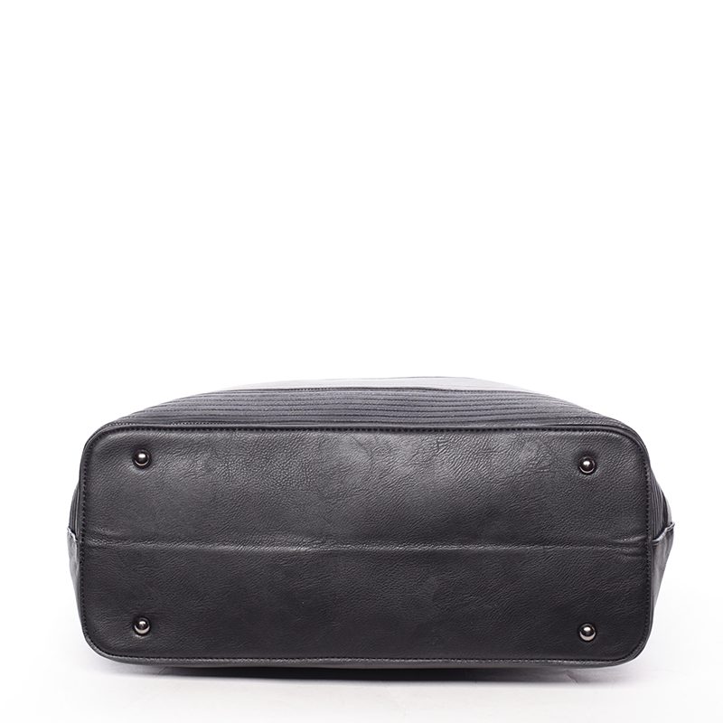 Elegantní dámská kabelka do ruky Perla, černá