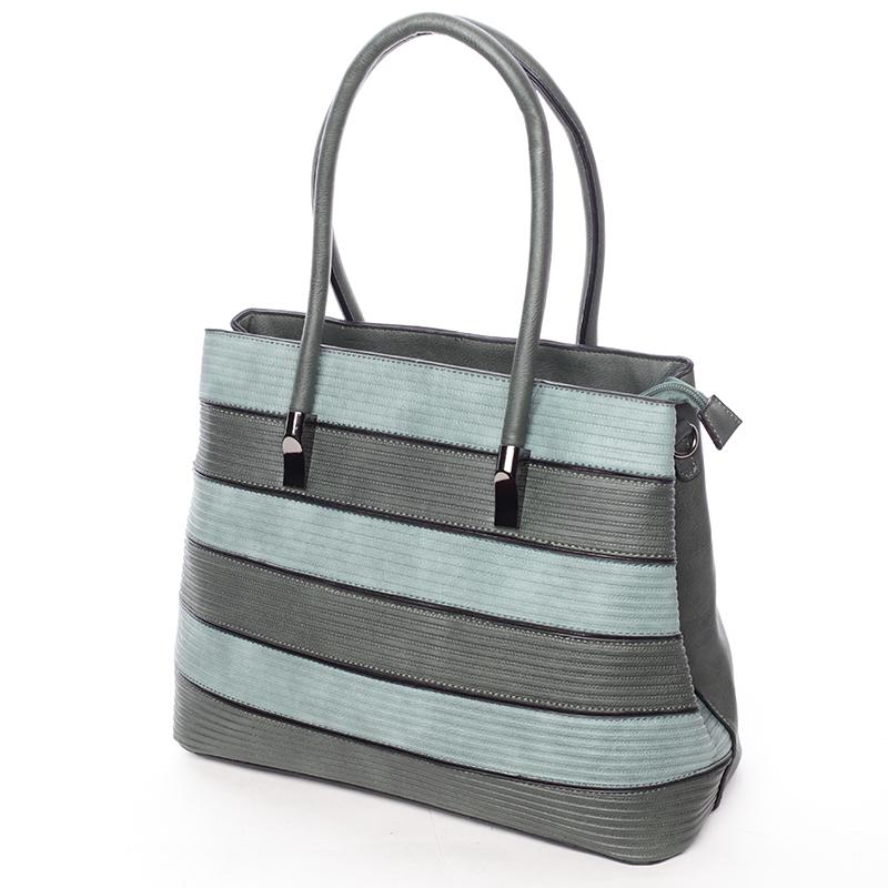 Elegantní dámská kabelka do ruky Perla, zelená