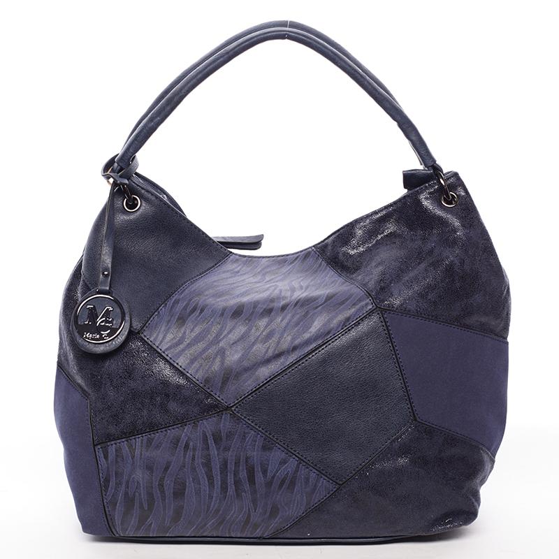 Trendy kabelka přes rameno BRIGITTE, modrá