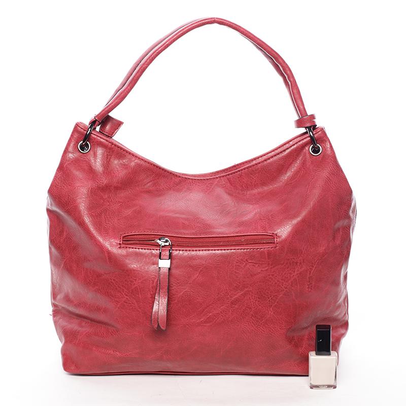 Trendy kabelka přes rameno BRIGITTE, červená