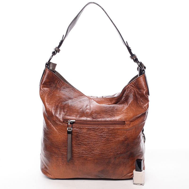 Originální dámská kabelka Antonina, hnědá