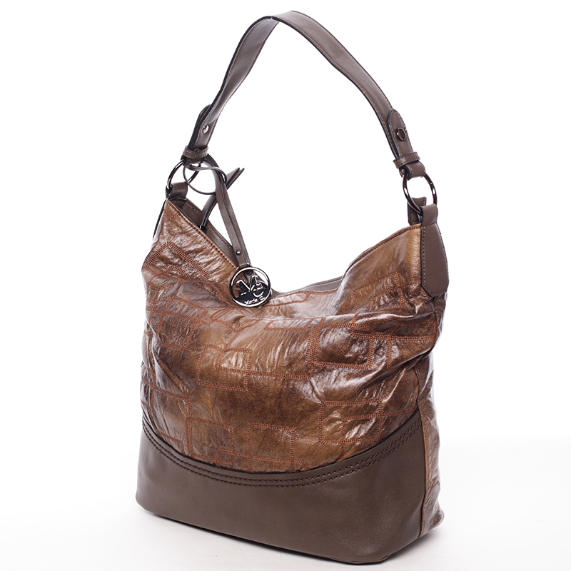 Originální dámská kabelka Antonina, kávová